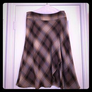 East 5th plaid skirt Size 14